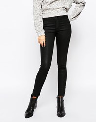 Cheap Monday Second Skin Jeans Waxed Black