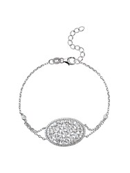 Mikey Sterling Silver 925 Oblong Centre Tennis N A N A