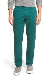 Ag Jeans Men's Ag Green Label 'Graduate' Slim Straight Leg Golf Pants Emerald Green