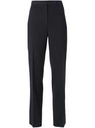 Dolce And Gabbana Vintage High Waist Cropped Trousers Grey