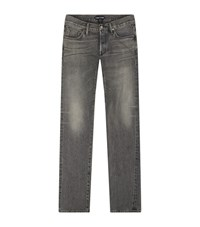 Tom Ford Slim Washed Jeans Male Grey