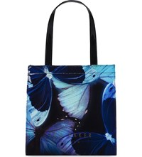 Ted Baker Butterfly Small Icon Shopper Black