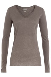 Majestic Long Sleeved Cotton Top With Cashmere Gr. 1