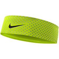 Nike 360 Headband Volt Black