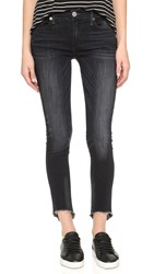 True Religion Halle Mid Rise Super Skinny Jeans Authentic Black