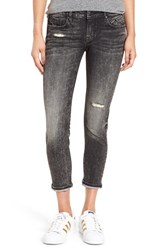 Vigoss Women's 'Tomboy Thompson' Distressed Crop Boyfriend Jeans