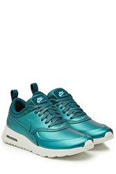 Nike Air Max Thea Leather Sneakers Green