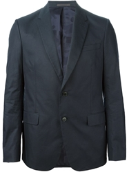 Valentino Classic Two Button Suit Blue