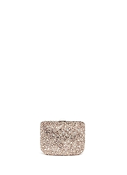 Crystal Pave Box Clutch