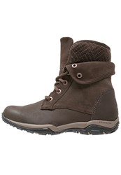 Columbia Cityside Fold Waterproof Walking Boots Mud Brown