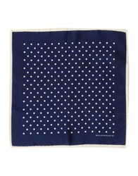 Baldessarini Square Scarves Dark Blue
