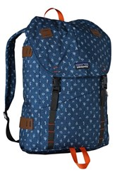 Patagonia 'Arbor' Backpack Blue 26 Liter Channel Blue