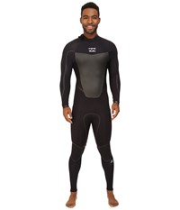 Billabong 403 Absolute X Back Zip Wetsuit Black Men's Wetsuits One Piece