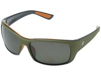 Zeal Optics Tracker Hunter Green W Polarized Copper Lens Sport Sunglasses Black