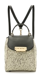 Zac Posen Painterly Eartha Backpack White Painterly