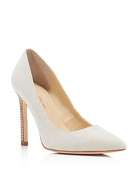 Ivanka Trump Carra Pointed Toe High Heel Pumps Nude