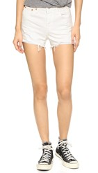 Levi's High Rise Wedgie Shorts Vintage Chalk