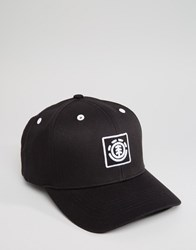 Element Cap Treelogo Black