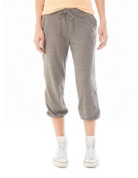 Alternative Apparel Easy Cropped Pants Eco Black