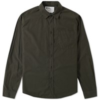 Mhl By Margaret Howell Mhl. Slim Work Shirt Green