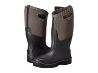 Bogs Ultra Cool Tech Tall Boot Black Gray Men's Waterproof Boots