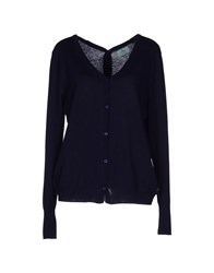 Replay Knitwear Cardigans Women Dark Blue