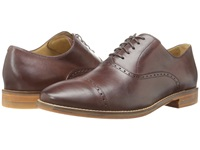 Cole Haan Cambridge Cap Oxford Dark Brown Men's Lace Up Cap Toe Shoes