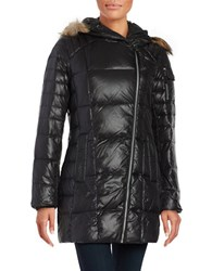 Marc New York Solid Lacquer Puffer Black