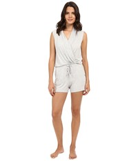 Ugg Kami Lounge Romper Seal Heather Women's Jumpsuit And Rompers One Piece White