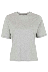 Boxy Tee By Boutique Grey