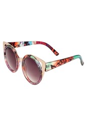 Jeepers Peepers Sunglasses Goldcoloured Multicoloured