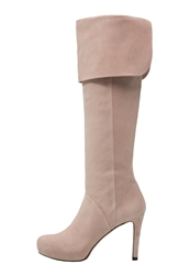 Pura Lopez High Heeled Boots Face Nude