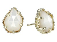 Kendra Scott Tessa Earring Gold Ivory Mother Of Pearl Earring