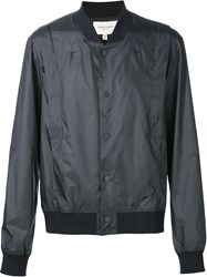 Public School Shoulder Panel Bomber Jacket Black
