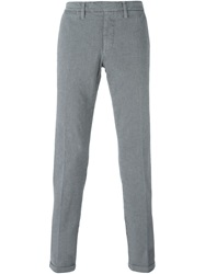 Eleventy Chino Slim Trousers Grey