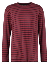 Your Turn Long Sleeved Top Bordeaux Dark Blue