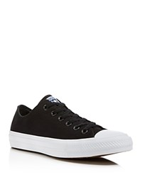 Converse Chuck Ii Oxford Lace Up Sneakers Black