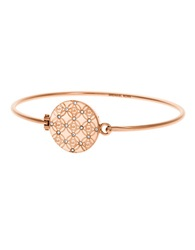 Michael Kors Monogram Bangle Rose Gold