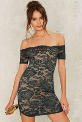 Barely There Lace Dress Cap Sleeve Green