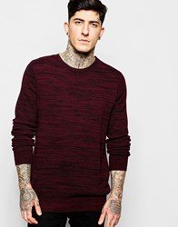 Lindbergh Jumper With Textured Knit And Zip Shoulder
