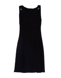 Charlott Short Dresses Black
