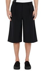 Wooyoungmi Wide Leg Shorts Black