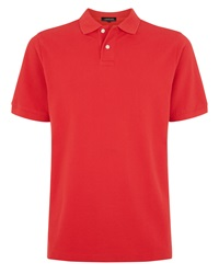 Jaeger Plain Polo Regular Fit Polo Shirt Red