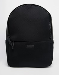 Rains Mesh Backpack Black