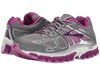 Brooks Ariel '14 Smoked Pearl Hollyhock Violet Women's Running Shoes Gray