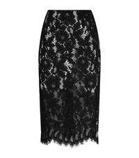 Sandro Kylie Lace Skirt Female Black