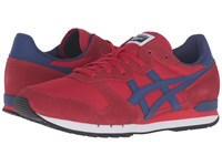Onitsuka Tiger By Asics Alvarado Red Blue Print Athletic Shoes