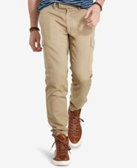 Polo Ralph Lauren Men's Twill Cargo Jogger Pants Sahara Gold