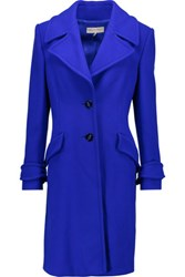 Emilio Pucci Wool Blend Coat Cobalt Blue
