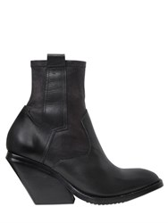 Cinzia Araia 80Mm Leather Pull On Boots